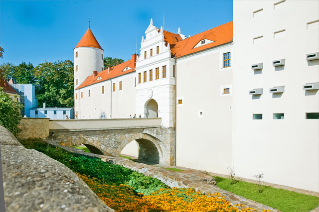 Castle Freudenstein. Press photo: City of Freiberg/Ralf Menzel