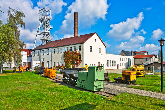 "Visitor Mine ""Reiche Zeche"". Press photo: City of Freiberg/Ralf Menzel"