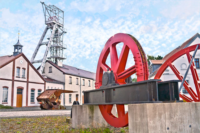 Visitor Mine. Press photo: City of Freiberg/Ralf Menzel